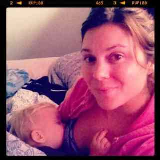 breastfeeding to sleep