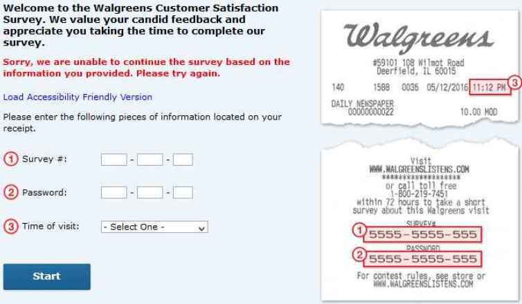 www.Walgreenslistens.com - Win $3000 Coupon Card - Walgreens Survey