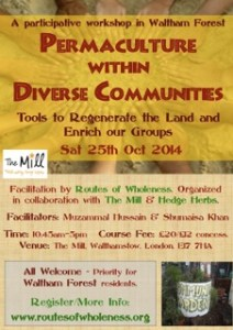 Permaculture within Diverse Communities Walthamstow
