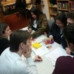 Quiz team pondering