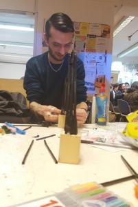 Building a construction for the creative challenge