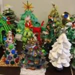 Christmas tree Eco Art Project