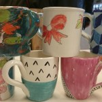 Pop-up Pottery mugs