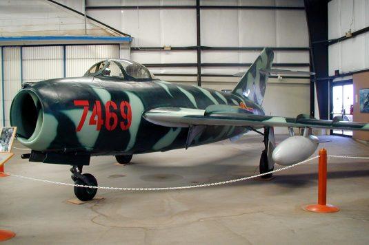 Un Mig-17 Fresco ben conservato (da Wiki_commons)