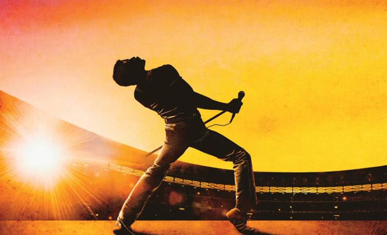 La locandina del film Bohemian Rhapsody in uscita a novembre 2018