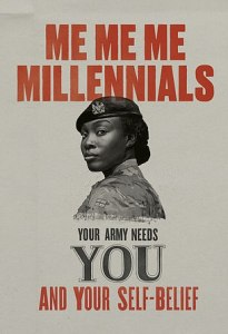 Esercito inglese millennials