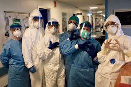 Medici e infermieri a Cremona foto di Paolo Miranda