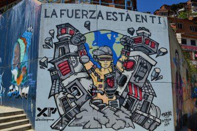 Graffiti di Takir S. Mesa Paniagua e G. Maugeri