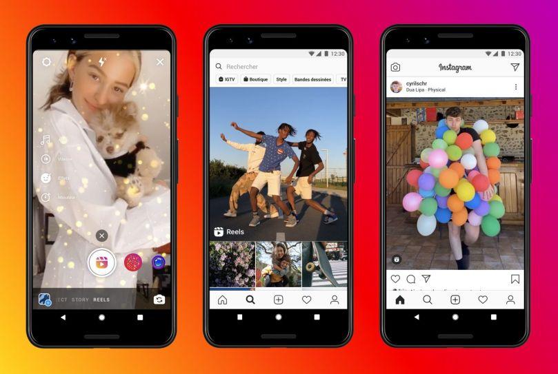 Instagram Reels sfida Tik Tok