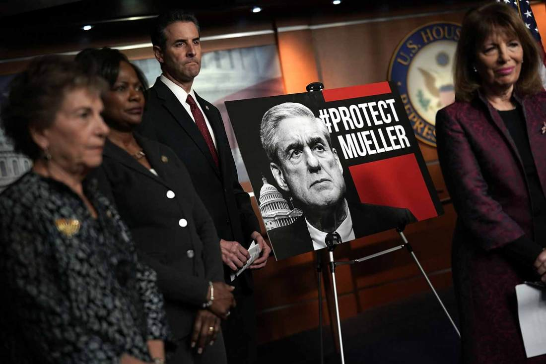 Stick up for Robert Mueller