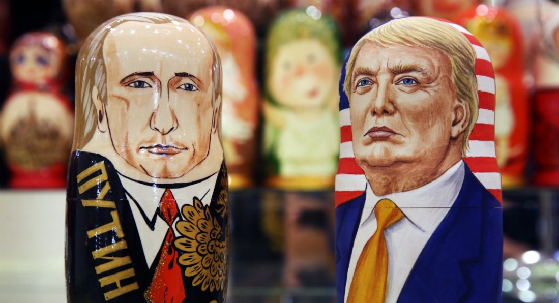 Trump and Putin- A lackey and his boss.
