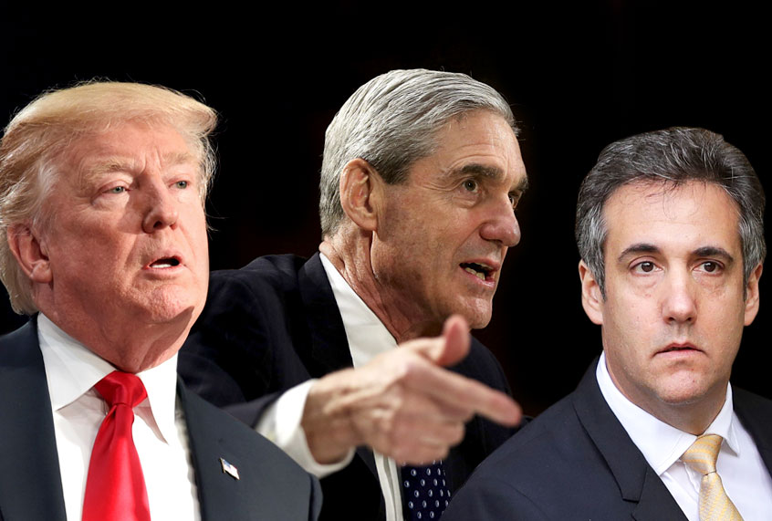 Cohen Sentenced! The Jig Is Up For Trump's Era.