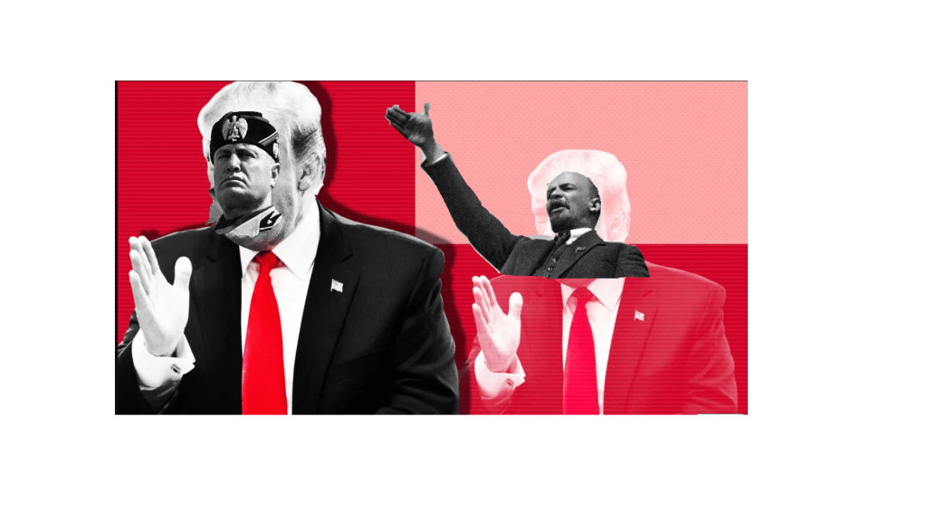 Trump's SOTU Cheered for Anti-Socialist Theme he stole from us.