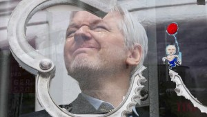 Julian Assange is getting kicked out of his Ecuadorian embassy home!