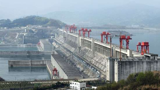 China displaced millions of people to build the Three Gorges Dam with no compensation.