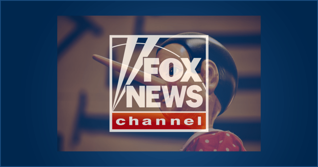 Fox News is nothing more than lies and slander and conservative propaganda.