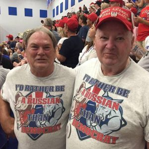 Red, sad, and confused Americans.