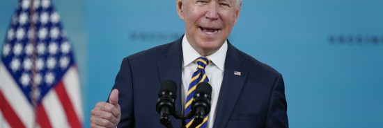 Biden says vaccine mandates shouldn't divide country, urges people to continue getting shots