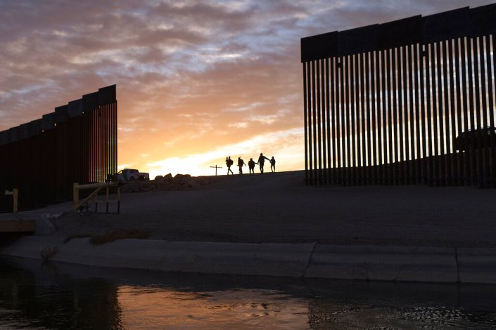 Middle-class migrants fly to Mexico and then cross US border illegally