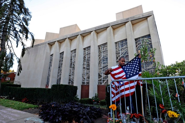 Pittsburgh synagogue shooter talked of killing Jews, officer says