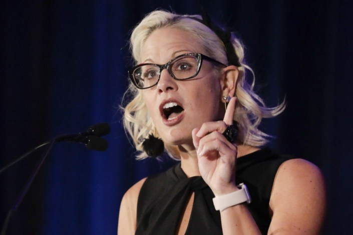 Report: Kyrsten Sinema Privately Told Democrats She Will Not Support Reconciliation Bill Before Infrastructure