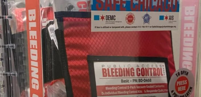 To Combat Increase in Shootings Chicago Installs 'Bleeding Control Kits' in City BuildingsJoe Hoft