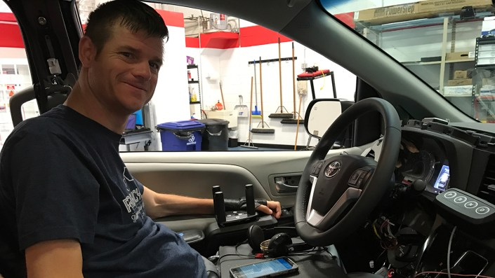 Nation's first driving rehabilitation program helps veterans, wounded warriors get back on the road