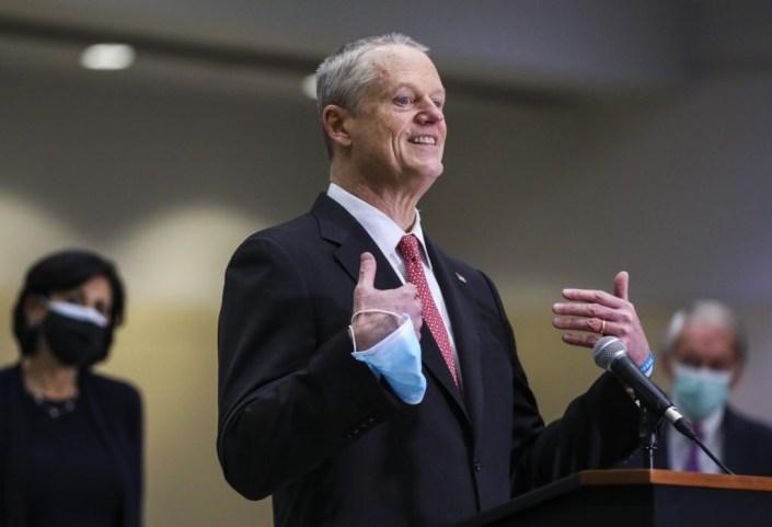 Massachusetts Gov. Baker Activates National Guard to Test Students for Coronavirus, Address Staffing Shortages
