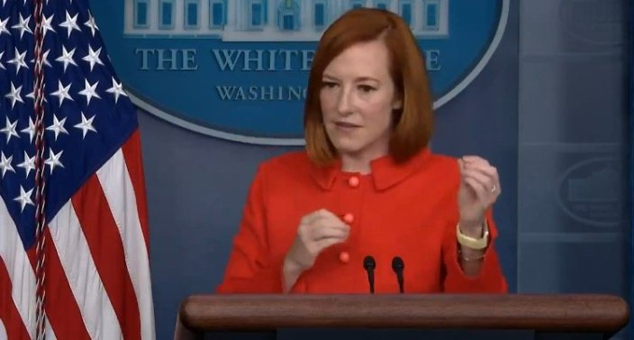 """Psaki Claims """"Little Hubbub"""" with Southwest Airlines Had Nothing to Do with Biden's Vaccine MandatesJim Hoft"""