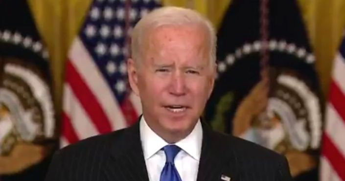 Watch: Biden Struggles to Speak, Winces and Mispronounces a Name During Speech on Supply Chains