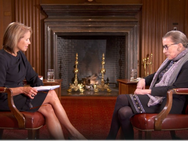 Katie Couric Admits She Edited Ruth Bader Ginsburg's Knock Against Anthem Kneelers