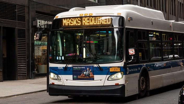 New York City teen, 14, shot on bus