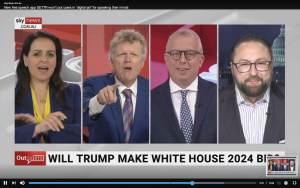 "SKY News Host Rowan Dean: ""Trump 2024, de Santis 2028 and 2032. We've got 12 great years coming""Richard Abelson"