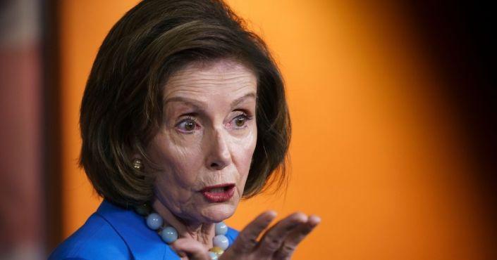 Nancy Pelosi Blames the Media for Not 'Selling' Democrats' $3.5 Trillion Spending Plan