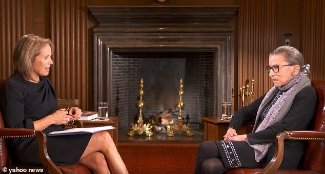 """KATIE COURIC ADMITS To Editing 2016 Interview With Ruth Bader Ginsberg About """"Stupid and Arrogant"""" People Who Kneel For US Anthem …Claims Supreme Court Justice Was Too Old To Know What She Was SayingPatty McMurray"""