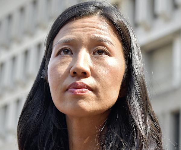 Boston Mayoral Candidates Wu, Essaibi George Debate Rent Control