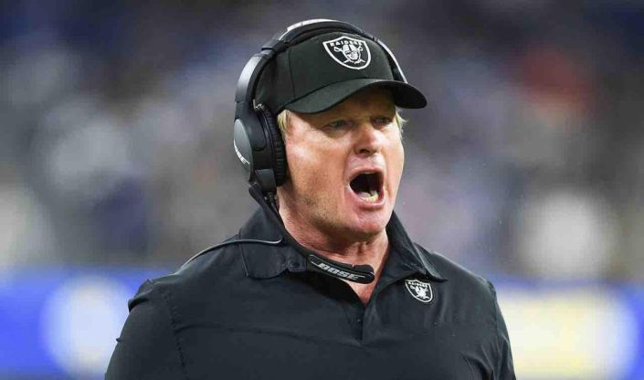 Jon Gruden's cancellation has commenced: Former coach to be removed from stadium's Ring of Honor, replaced by 'generic likeness' in Madden NFL 22 game