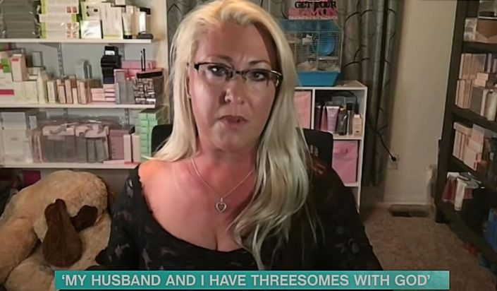 OnlyFans 'star' raises eyebrows after saying she has 'threesomes with God' and her husband: 'I'm having the best sex of my life!'