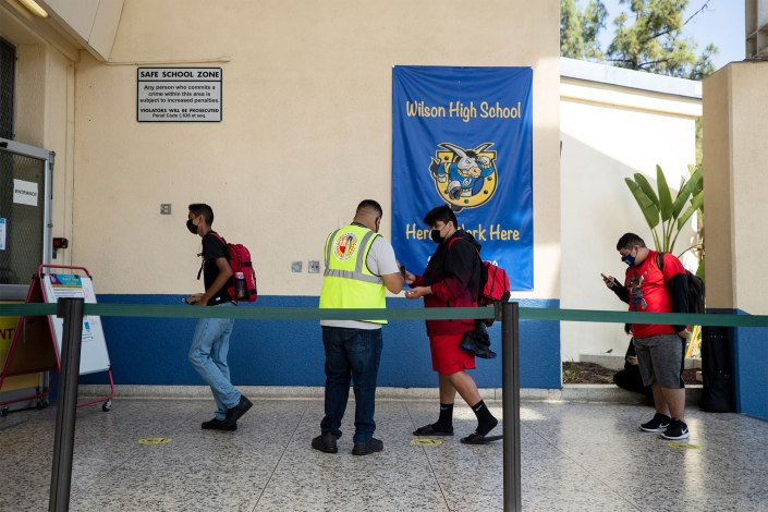 COVID cases among children soared in September as kids returned to school