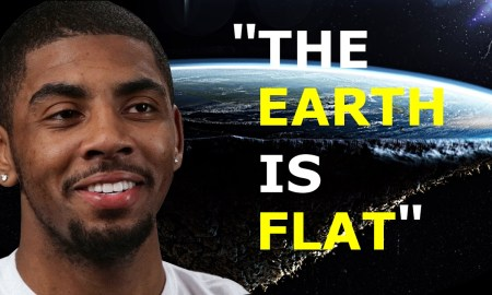 Kyrie Irving explains why the earth is flat.