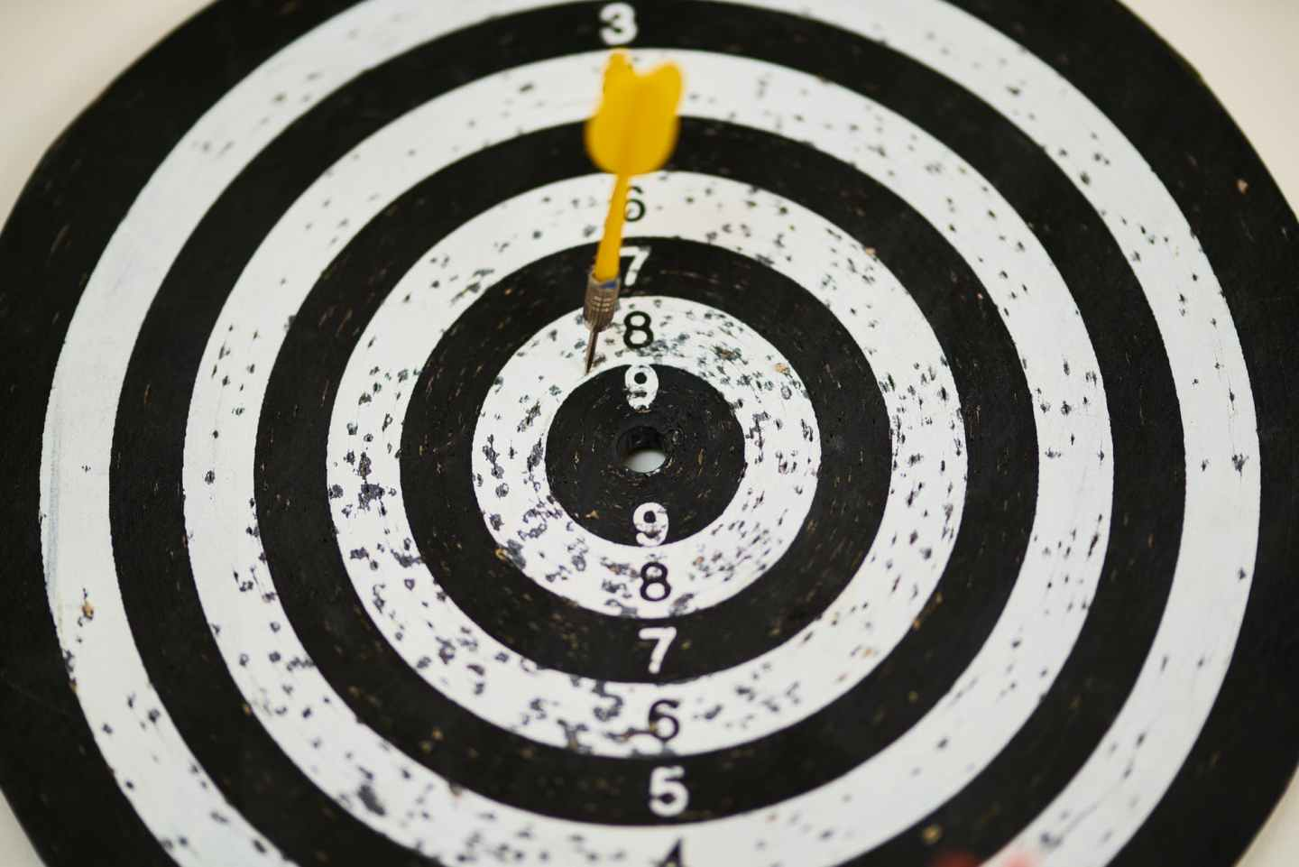 Finding your purpose is like aiming for a bullseye on a dartboard