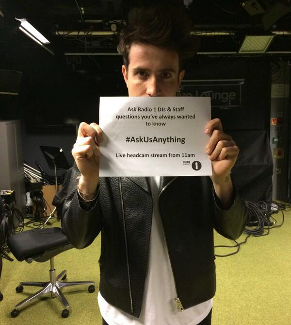 What happens when Radio 1's boss does a livechat?
