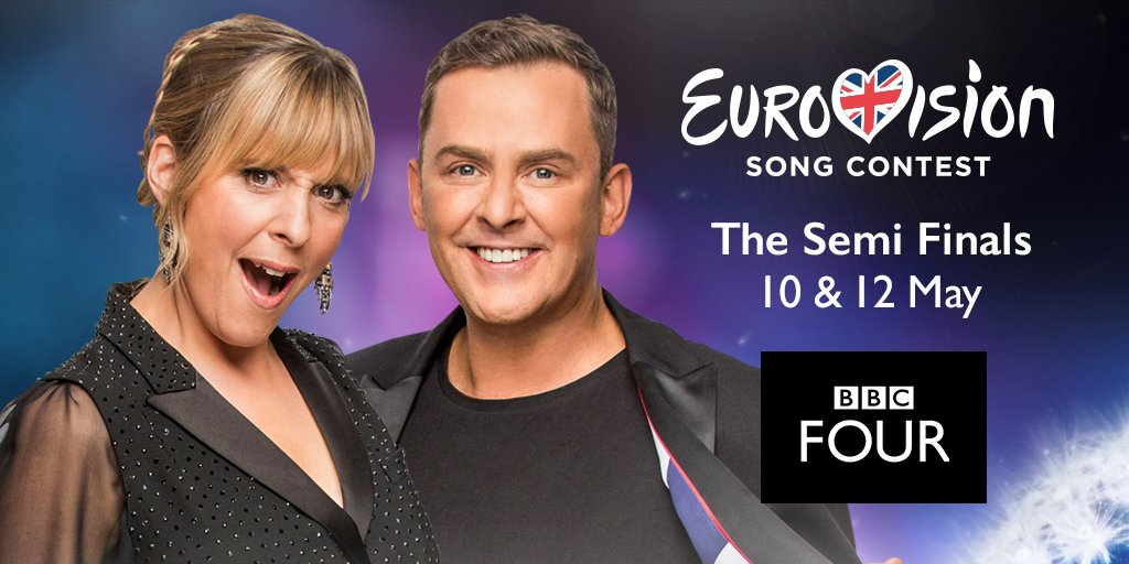 Scott to host Eurovision semi-finals on BBC Four