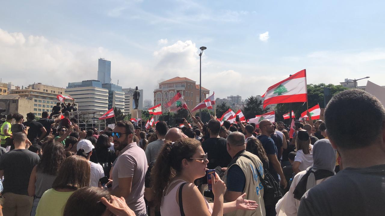 Protests erupt in Lebanon over deep economic troubles