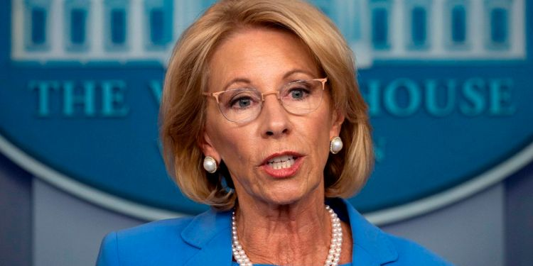 Who is Betsy DeVos?