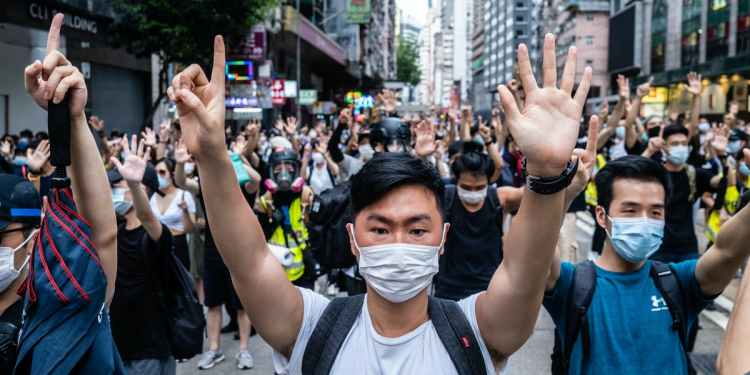 Hong Kongers find creative new ways to voice their dissent as law enforcement cracks down