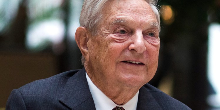 Conspiracies claiming billionaire George Soros funds Antifa are a perfect storm of right-wing boogeymen