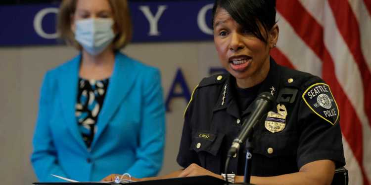 Seattle police chief retires after city council votes to cut 3.5 million from police budget