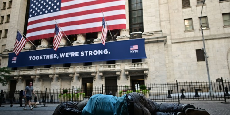 The stock market is recovering from COVID-19, but is America?