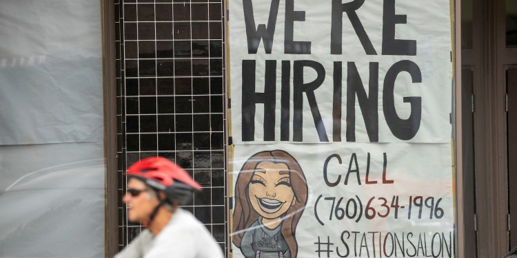 Businesses are struggling to fill job vacancies even as the US economy rebounds